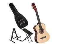 Guitar bundle set bag stand tunner