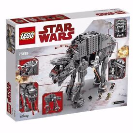 LEGO 75189 Star Wars First Order Heavy Assault Walker (brand new)