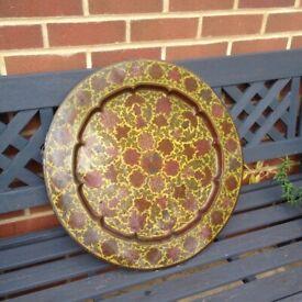 Orienetal platter
