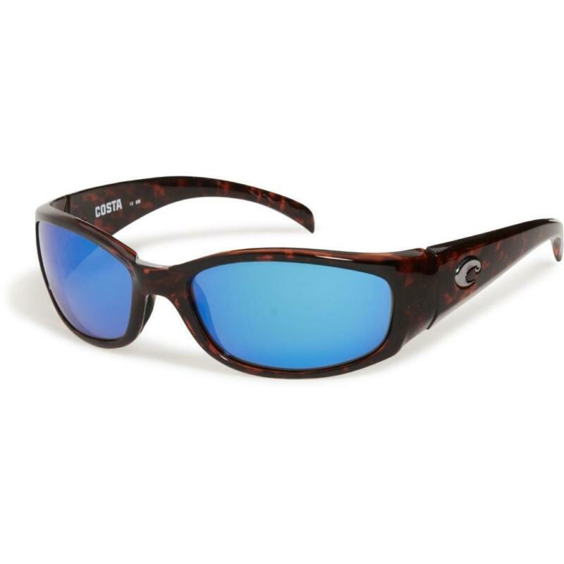 Costa del Mar Hammerhead Polarized Sunglasses Tortoise/Blue 400G Glass XL Fit