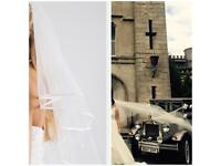 Richard designs wedding veil