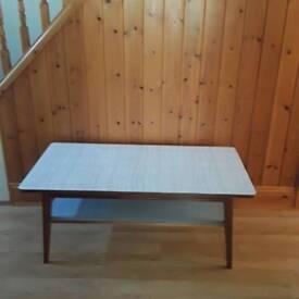 Coffee table real wood