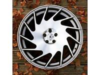 "Brand new 19"" Magnus Alloy wheels 5x100 Audi TT mk4 golf skoda"