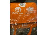 Brand new just eat bag