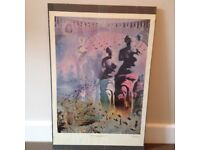 Salvador Dali Poster in Clip Frame - 'The Hallucinogenic Toreador'