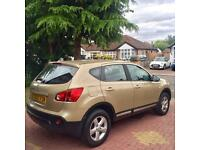NISSAN QASHQAI ACENTA, 1.6 PETROL 2007/57, SERVICE HISTORY, BLUETOOTH, IMMACULATE, PARKING SENSORS!