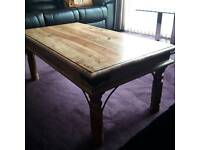Solid wood table good condition
