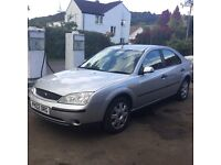 Ford mondeo new mot low miles