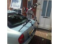 Halfords rear mounted 3 bike rack