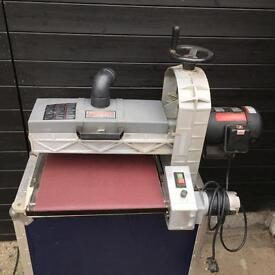 Axminster Drum Sander 16 -32 new conveyor & drum belts fitted