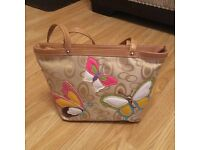 Pavers Butterfly pattern ladies handbag