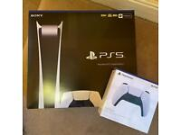 PS5 Digital Edition - With extra controller
