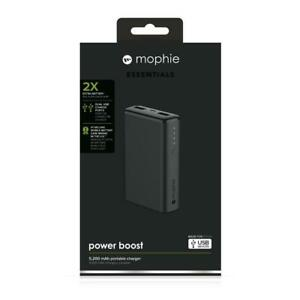 SPRING SALE Mophie Essentials Power Boost, Gray, Brand new, Storedeal_2981505