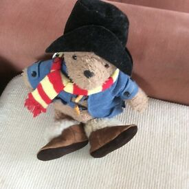 Paddington bear includes cute shoes