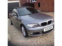 2010 BMW 1 Series 2.0L M sport 2 door Convertible only 26868 miles