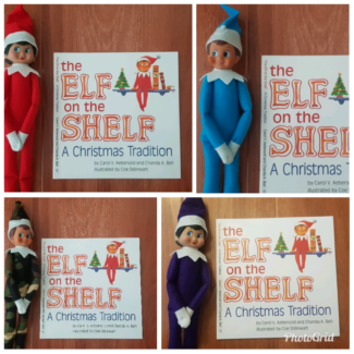 Elf on the Shelf - Plush toy and Book