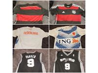 Football Jersey and tank tops Nba