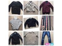 Bundle joblot of women's jumpers jackets coats belts