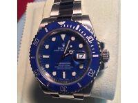 Rolex Submariner Blue Face