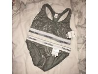Calvin Klein Bralette and Brief