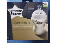 Tommee Tippee Closer to nature feeding bottles 0m+