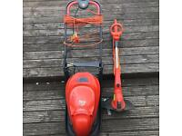 FLYMO LAWNMOWER AND FLYMO STRIMMER EXCELLENT BARGAIN