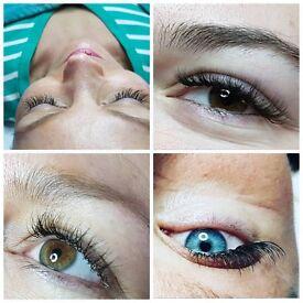 eyelash extensions - semi permanent