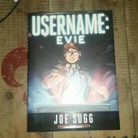 Joe sugg username:evie hardback book