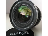 Bronica SP 50mm f3.5 lens in Excellent Condition.