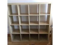 IKEA kallax/expedit storage unit shelves in beech
