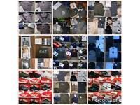 **WHOLESALE** MENSWEAR BIGGEST RANGE T SHIRTS SHORTS POLOS TRACKSUITS TRAINERS