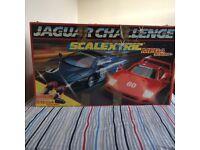 Scalextric Jaguar Challenge Set complete in box.