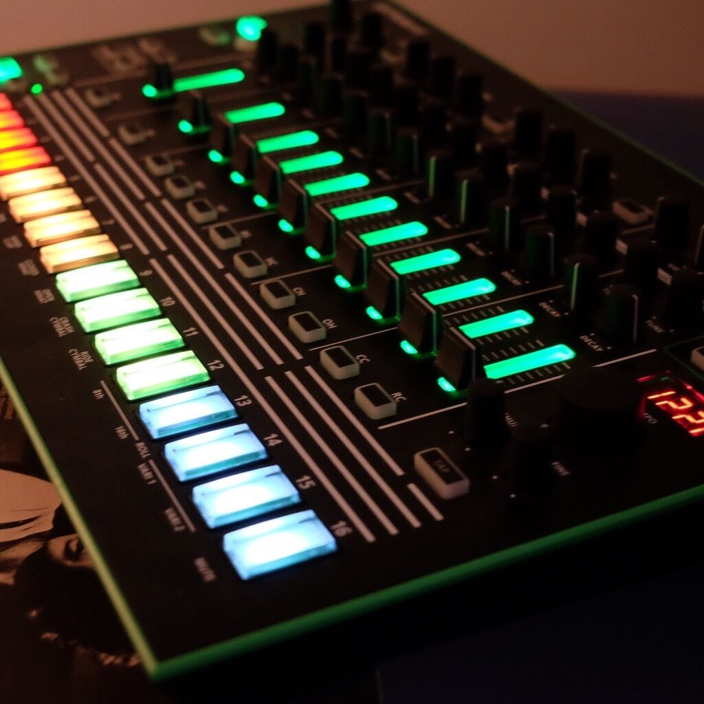 Roland TR-8. Mint with 7X7 6X6 expansion, box.