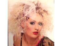 Fun Party Wig 1980s Wild Child Blonde