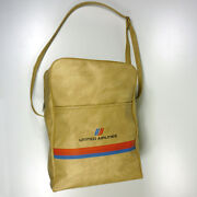 Vintage United Airlines Bag