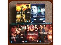 Supernatural Boxsets - Seasons 1-4