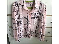 Vintage style pink shirt