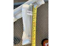2x Kitchen door handles 23cm long outer measurement top to bottom NEW