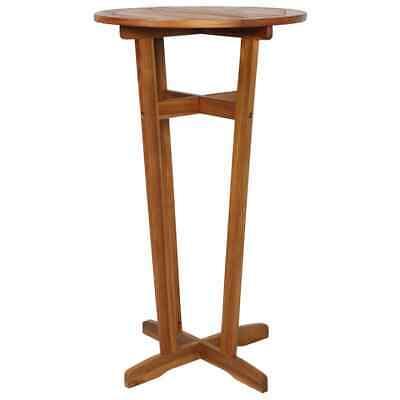 vidaXL Solid Wood Bar Table 23.6