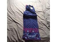 Tu fleece pyjama bottoms