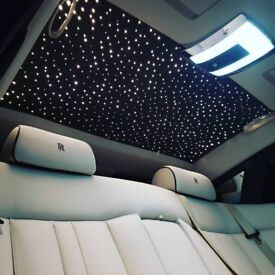 Series 2 Rolls Royce Phantom Hire - Starlight Rolls Royce - New Rolls Royce - Limo - Wedding Car