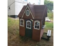 Childs lovely playhouse