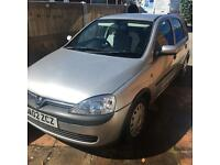 Vauxhall corsa 1.2 petrol **immaculate condition**