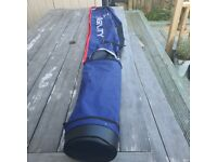 Shakespeare Agility Sea Rod Quiver fishing rod Holdall - Blue