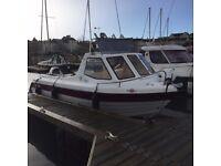 Warrior 175 Export boat with SBS braked trailer, 100hp & 6hp Mercury 4 stroke engines