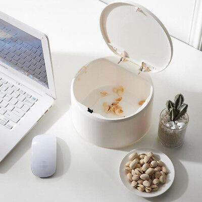 Tisch Kosmetikeimer Kunststoff Badezimmer Mülleimer mit deckel für (Badezimmer Mülleimer Mit Deckel)