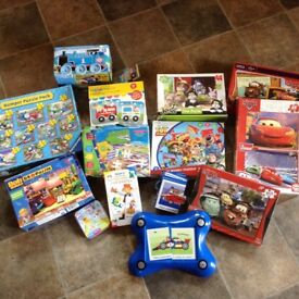 Selection of kids puzzles