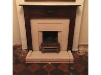 Vintage retro Fireplace / surround