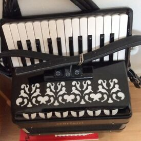 Nearly new piano accordion for sale