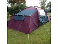 Khyam rigi dome 6 berth tent
